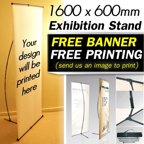 Custom Exhibition Stand Up : Exhibition personalised pull up banner custom printing
